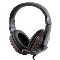 Luxury Gaming Headset Headphone Leather Earphone With Microphone For Sony PS3 PC