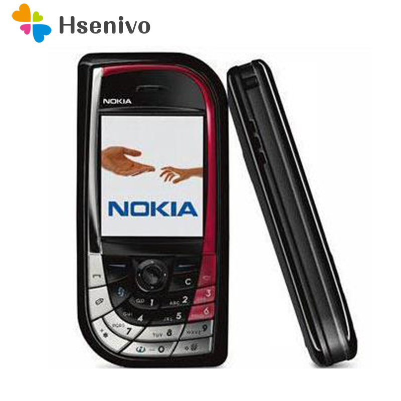 Hot!!! 7610 Original Unlocked Refurbished Nokia 7610 Mobile Phone GSM Tri-Band Camera Bluetooth Smartphone Free Shipping