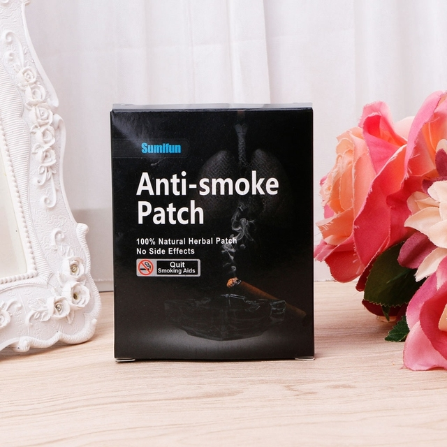 35pcs Natural Ingredient Nicotine Patches Stop Smoking Cessation Patch Health Care Tool 1