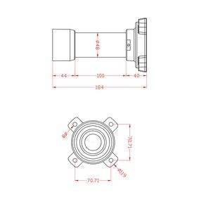 Image 5 - Audio IP PTZ Wiper Camera Outdoor 1080P 36X Optical Zoom Lens 4.6 165.6mm Pan Tilt 10Pcs Array IR 150M ONVIF Speed Dome IP Cam