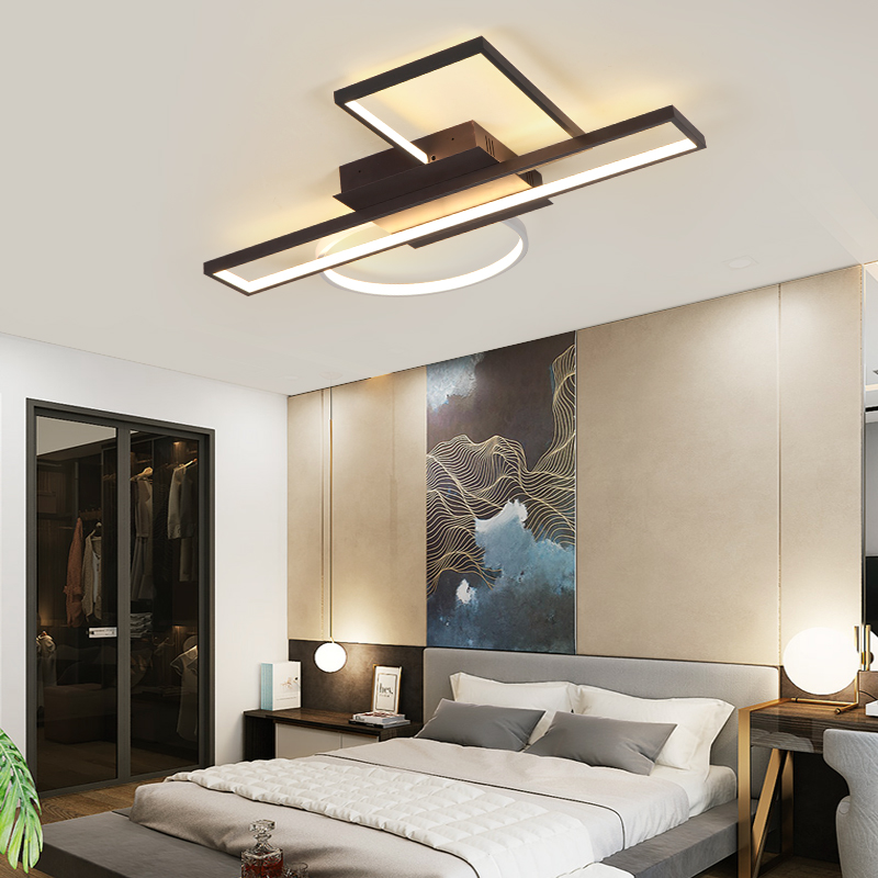 Image 3 - modern chandelier light For living room bedroom Study room Chandelier Lighting Fixture AC110 265V 2018 new Creative combination-in Chandeliers from Lights & Lighting