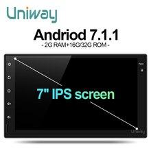 Uniway AWD7071 2G + 16G android de dvd del coche para nissan qashqai x-trail almera pathfinder teana 2008 2011 multimedia car radio gps