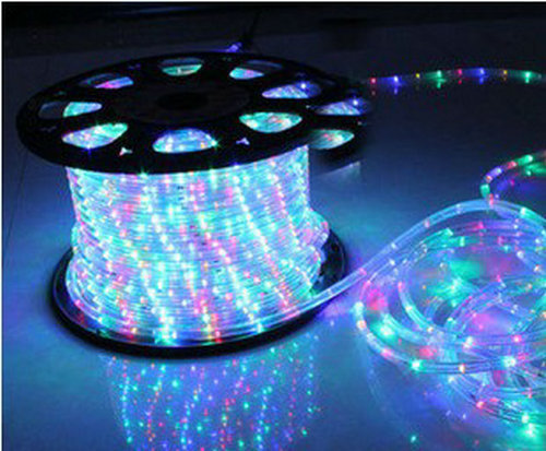 Wholesale 33 spool 2 wire round led rope light 110v four color wholesale 33 spool 2 wire round led rope light 110v four color aloadofball Image collections