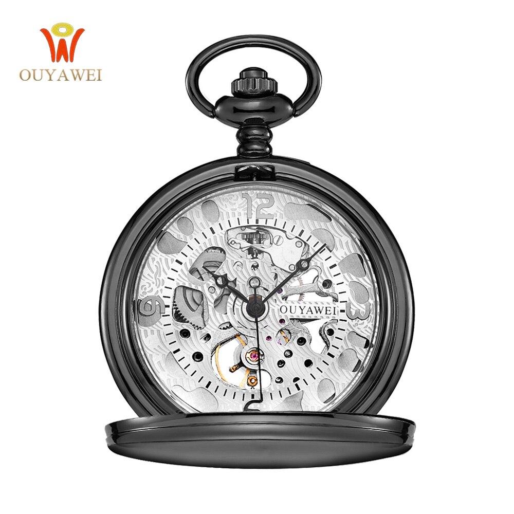 Steampunk 포켓 시계 OUYAWEI 새로운 디자인 럭셔리 - 회중 시계 - 사진 2