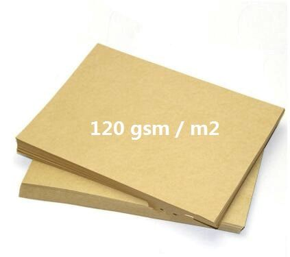 A4 Light Brown Printable Kraft Cardstock Copy Paper For Inkjet Printer 120gsm 5/20/30 Sheets