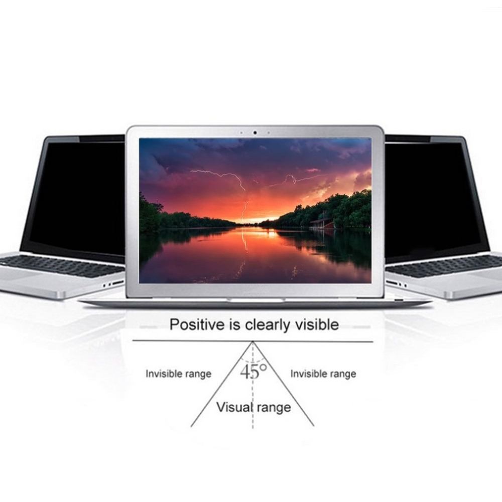 11/12/16/17 Inch Privacy Filter Anti Peeping Screens Protective Film Anti Radiation For 16:9 Laptop