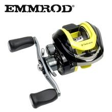 EMMROD 10+1BB Fishing Reels 6.2:1 Bait Casting Reels Left Right Hand Fishing Baitcasting Reel wheel