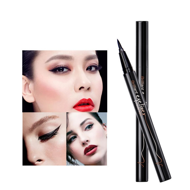 Black Waterproof Liquid Eyeliner Make Up Beauty Comestics Long-lasting Eye Liner Pencil Makeup Tools for eyeshadow