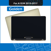 Gloden Laptop A1534 LCD LED Screen assembly for Macbook Retina 12 inch Display 2015 2016 2017 Year EMC 2746 2991 3099