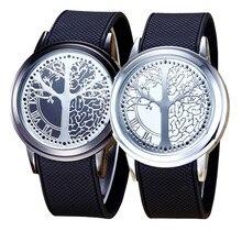2 шт. творчески пара touch Best подарок Экран силиконовой лентой светодиодных наручные часы спортивные часы Винтажные часы #1129