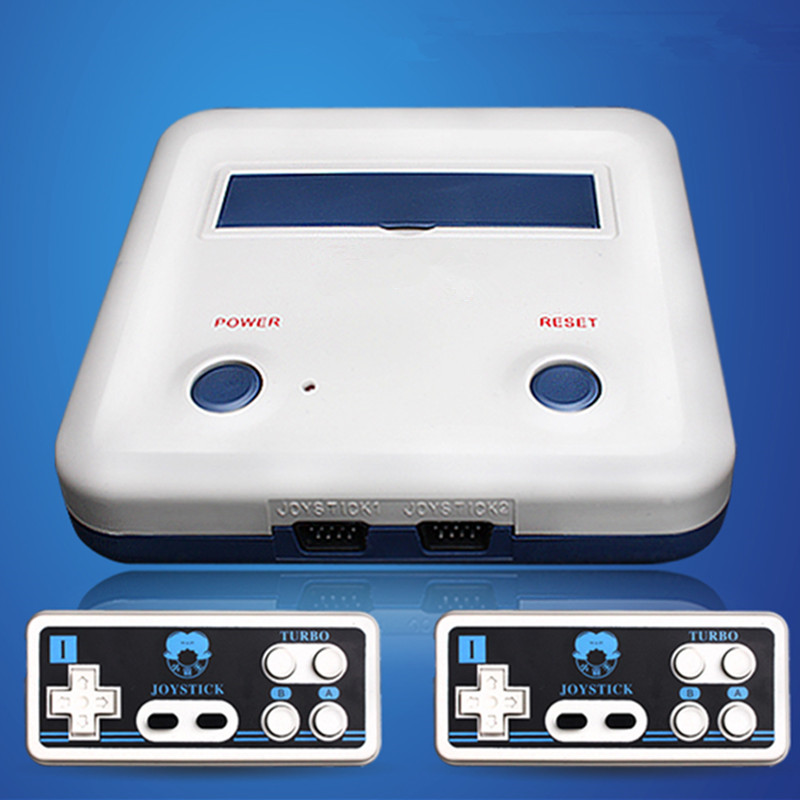 Heimvideospielkonsolen Kid D30 mit zwei Griffen 8 FC-Heimvideokarte - Spiele und Zubehör - Foto 3