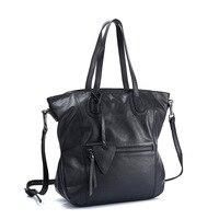 Women Spring Genuine Leather Handbags Famous Brand Tote Bag Designer Handbag Female Messenger Crossbody Bag For