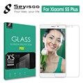 100% Original Seyisoo 2.5D 0.3mm 9 H Vidro Temperado Filme Protetor de Tela Temperado vidro para 5S plus mi5s xiomi xiaomi mi 5 s 5 splus