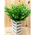 Hot New Green 7-Branches Artificial Fake Floral Plastic Silk Eucalyptus Plant Flowers Cafe Office Home Hotel Decor
