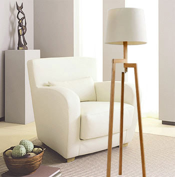 Online Shop Modern Tall Wood Floor Lamps For Living Room Solid Wooden  Tripod Standing Lamp Loft Ofhead Fixture Lighting | Aliexpress Mobile Part 24