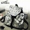 BAO QIAO Yong senhora mais novo Baobao Moda Quente estilo Preppy mochila UNISEX Malha Geométrica MOCHILA 3 cores