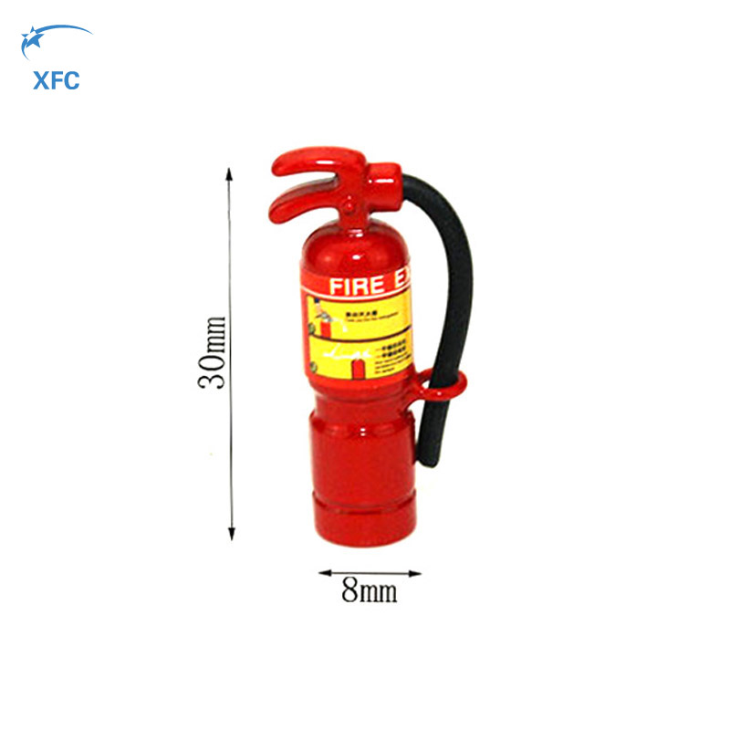 RC 1/10 Accessory Fire Extinguisher for Axial Wraith SCX10 CC01 RC4WD D90 D110 Rock Crawler Car Part rc car axial scx10 radio box parts for 1 10 d90 d110 axial scx10 crawler car