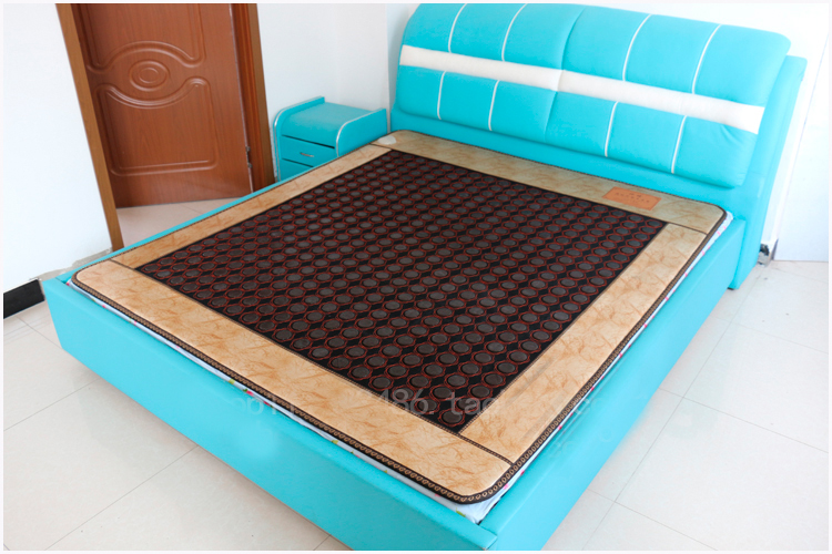 2016 Best Selling Home korea health jade mattress Electric Heating Natural negative ion massage mattress Free shipping 1.0X1.9M