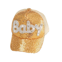 SUOGRY Children Snapback Bone Sequins Mesh Baseball Cap Kids Baby Hats For Girls Boys 2-8 Years Hip Hop Child Cap Summer Sun hat цена