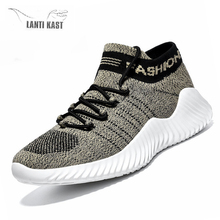 2019 Summer Mesh Men Running Shoes Beathable Air sports Casual Slip On Sock Sneakers