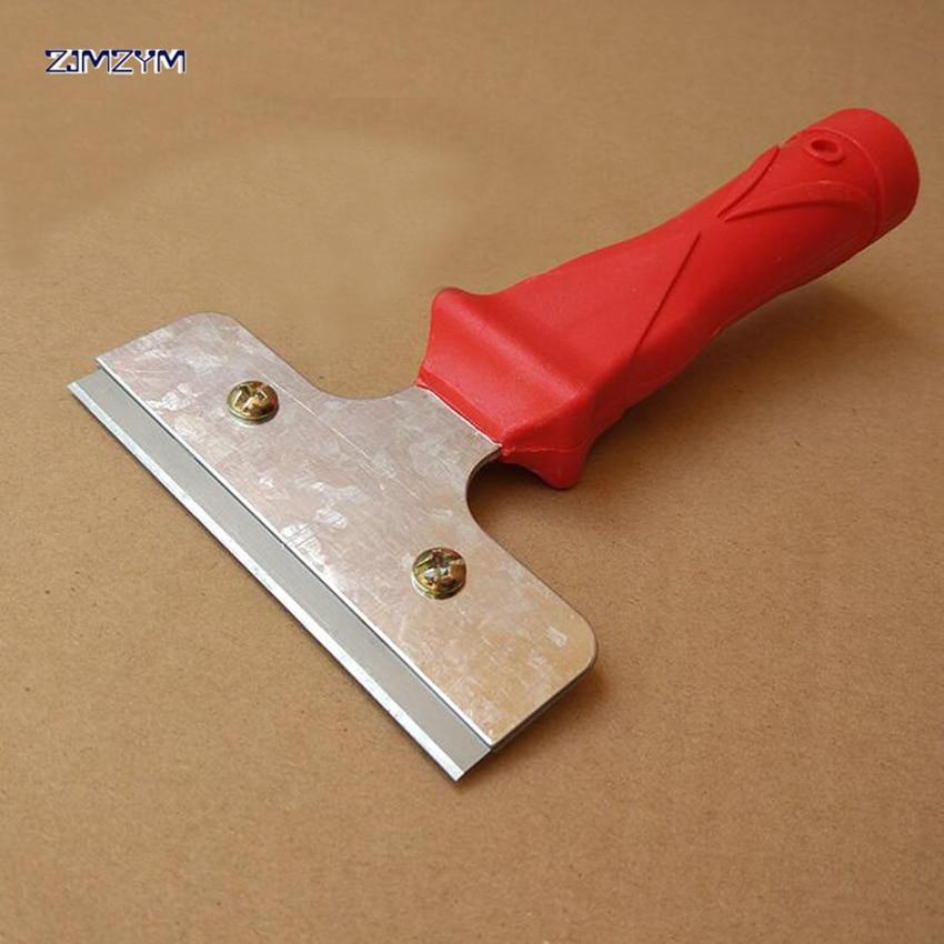 Инструмент для декорирования краски, лезвие из углеродистой стали, скребок, пластиковая ручка, 170*100 мм, нож для шпатлевки, инструмент для очи...