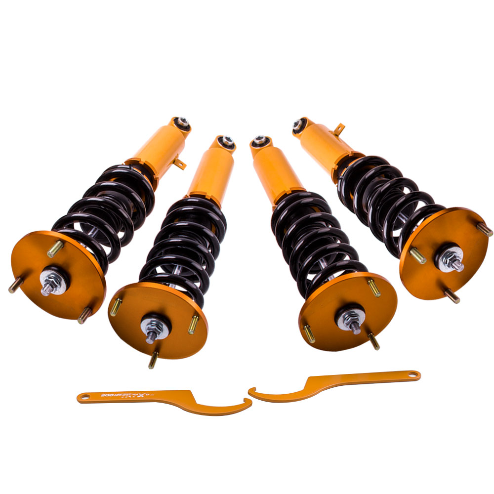 Hauteur Réglable Coilovers Pour Toyota Supra GA70 86-92 Choc Absobers Suspension Coilover Amortisseur Force Top Supports Suspension