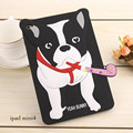 3D Cartoon Bunny Dog Doggy Fundas Cover case For Ipad 2 3 4 5 6 Air 2 Soft Silicone Cases For Ipad Mini 1 2 3 4 Tablet Coque