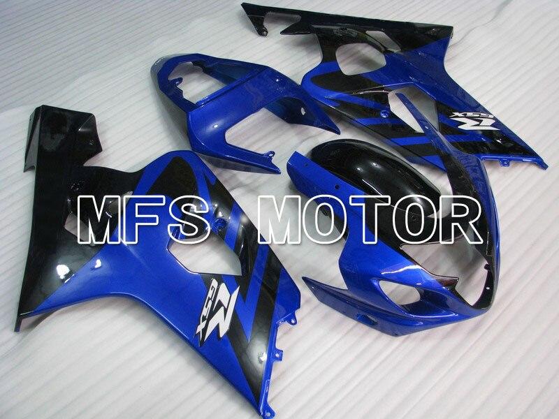 Для Suzuki GSXR600/750 К4 2004 2005 04 05 GSXR600 750 04 05 Впрыски ABS Обтекателя комплекты - другие - синий/черный
