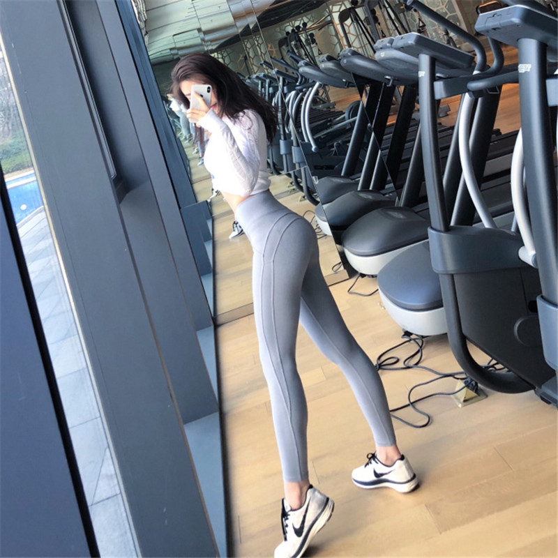 87f9ee8bc65b9 NORMOV Woman Workout Push Up Leggings High Waist Women Leggings Female  Clothing Jeggings Women Sports Leggings   Athletic Store