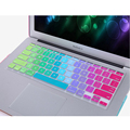 US Version Colorful Silicone Rainbow keyboard Cover For Macbook Air 11 13 Pro 13 15 Pro 13 15 Retina For Mac Laptop Skin Film