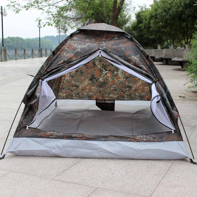 215 x155x125cm Camouflage C&ing Tent Outdoor waterproof camouflage tents Portable for 2 Person Hiking with carry & 215 x155x125cm Camouflage Camping Tent Outdoor waterproof ...