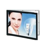 A4 Dual Sided Aluminum Illuminated Led Light Box ,Magnetic Sign Menu Light Pocket for Cafe,Tea,Hotel,Restaurant