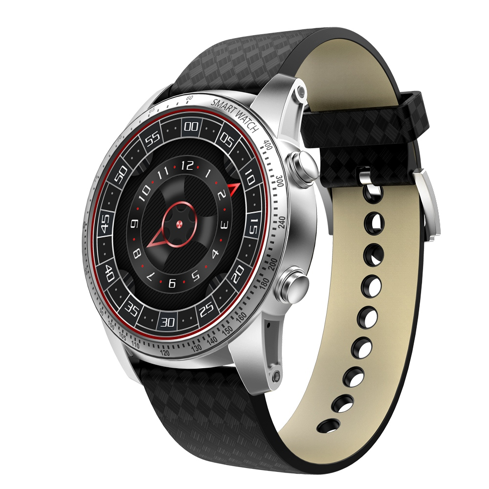 KW99 Android 5.1 Smart Watch 3G MTK6580 8GB Bluetooth SIM WIFI Phone GPS Heart Rate Monitor Wearable Devices Black цена