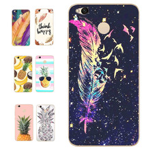 MLCRIYG Soft Phone Case For Xiaomi Redmi 4X TPU Coloful Soft Pineapple Leaves Cover Colorful Painted Design Case Fundas B098