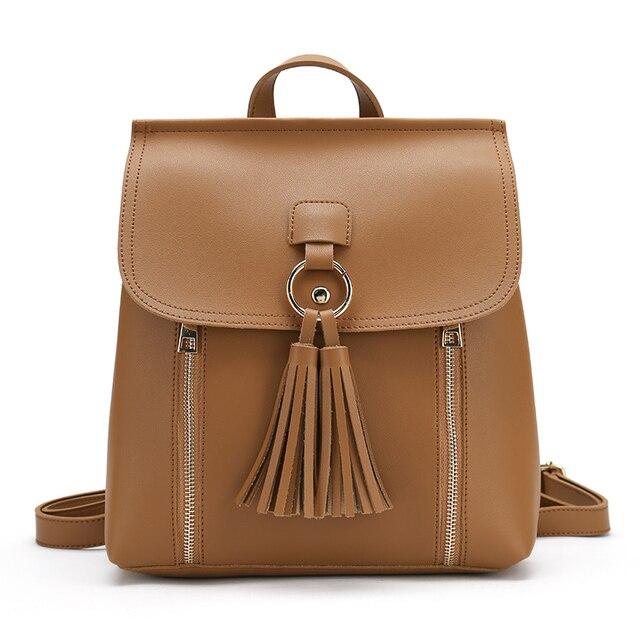 Aliexpress.com : Buy Korean Style Tassel Women Backpacks Bag ...