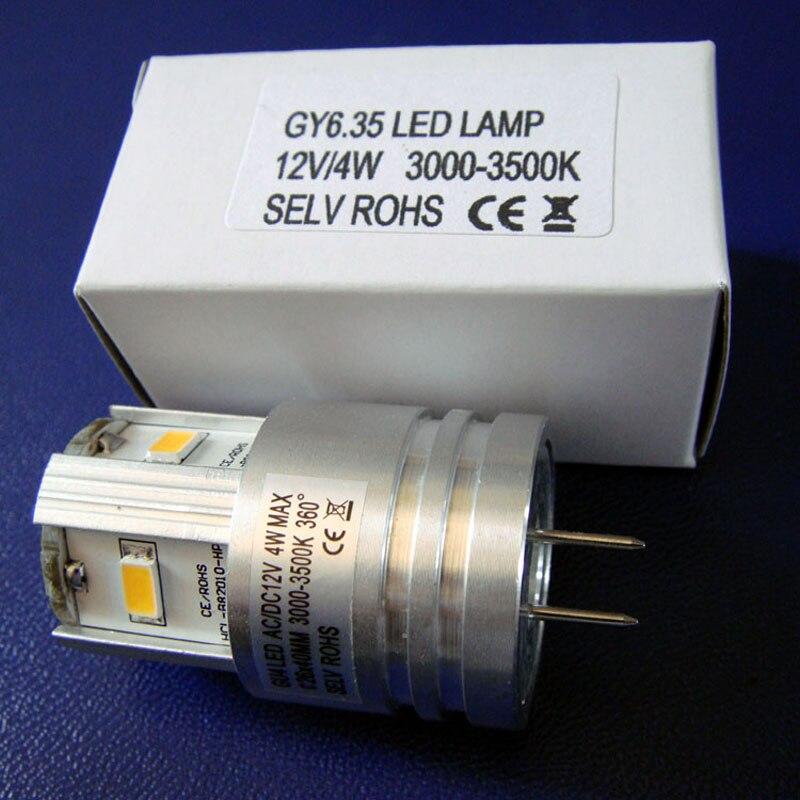 Высокое качество <font><b>LED</b></font> <font><b>GY6</b></font>.35, 12 В 4 Вт Высокая мощность 5630 SMD G6.35 светодиодные фонари, gu6.35 светодиодные лампы 4 Вт 12 В <font><b>GY6</b></font> <font><b>LED</b></font> Бесплатная доставка 8 шт./ло&#8230;
