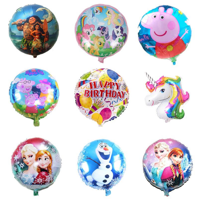 Image 6pcs Choice By Yourself Inflatable Foil Balloon Party Balloons Birthday For Decorations