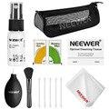 Neewer 7-en-1 Cámara Kit De Limpieza para la Lente DSLR/Sensor/Pantalla LCD: Hisopo Sensor + Pincel + Aire ventilador + Papel de seda + Botella del Aerosol Vacío