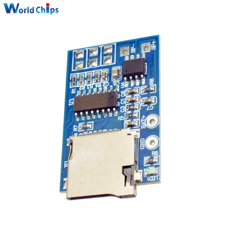Active Components Electronic Components & Supplies Devoted Tzt Gpd2846a Tf Card Mp3 Decoder Board 2w Amplifier Module For Arduino Gm Power Supply Module