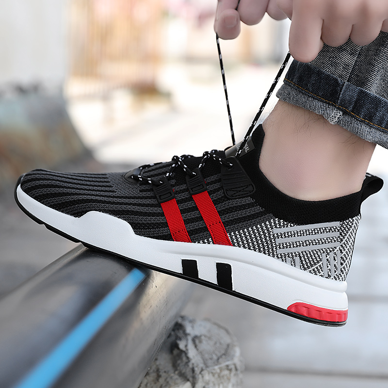 Male Big Size 39-46 Summer Mens Casual Shoes Fashion Breathable Walking Shoe Lightweight Lace-Up Men Sneakers Trainers 2017 mens casual shoes hot sale mens trainers for men lace up breathable fashion summer autumn flats male shoes adult sneakers