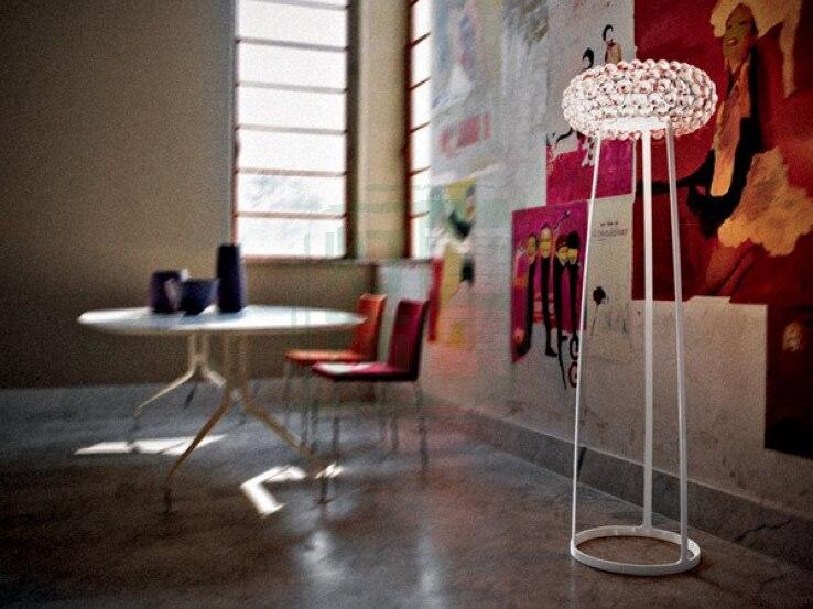 Italy master plan to set glass precious floor lamp stones acrylic modern simple living room bedroom study floor lamps YA72717