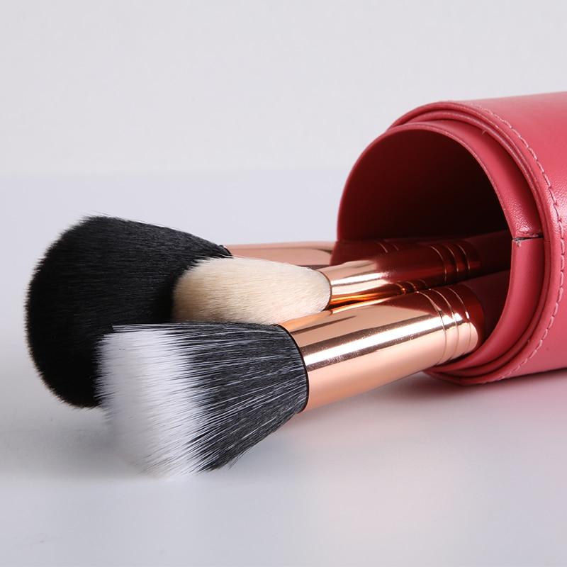 Princess Rose 12st Make Up Brush Set Makeup Brushes Kit Pinceis - Smink - Foto 6