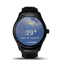 Marke Neue Smart Uhr Q3 Wifi 3G Dual Core Android 4.4 Amoled-display Smartwatch Telefon Anroid & iOS Pulsmesser Schrittzähler