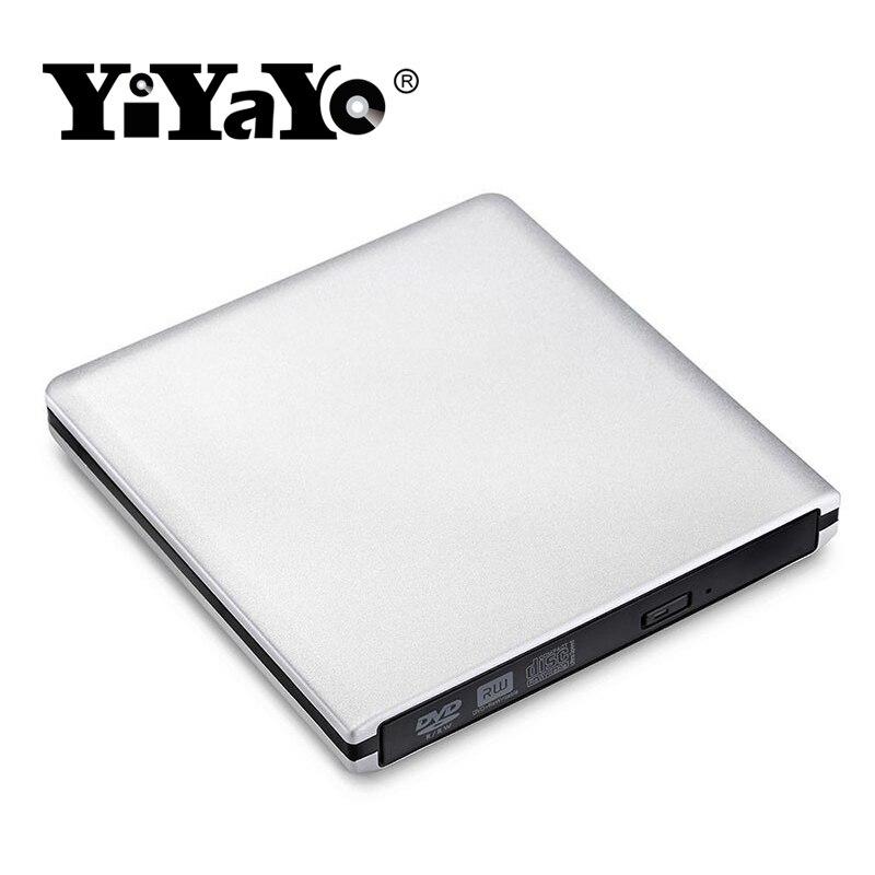 Արտաքին DVD սկավառակ YiYaYo USB 3.0 CD / RW այրիչ - Համակարգչային բաղադրիչներ - Լուսանկար 2