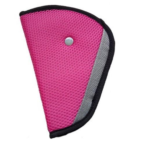 Children Kid Car Safety Harness Adjuster Seat Belt Seatbelt Strap Clip Cover Pad Pink