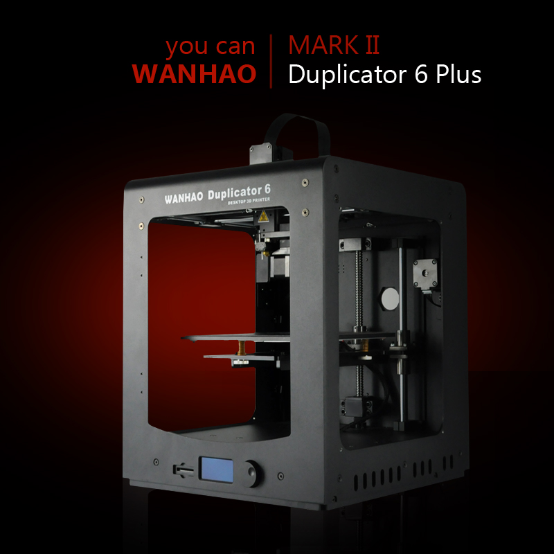 2019 chiny najlepiej sprzedać 3D drukarki Wanhao D6 PLUS z automatycznego poziomowania