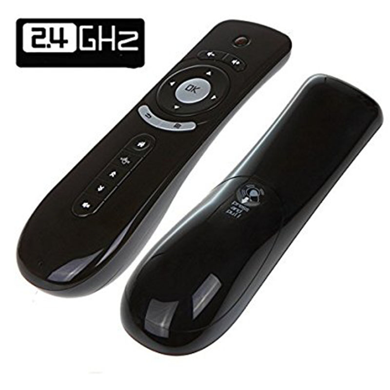 Fly Air Mouse T2 Remote Control 2.4GHz Wireless 3D Gyro Motion Stick For 3D Sense Game PC Android TV Box Google TV Player XBMC
