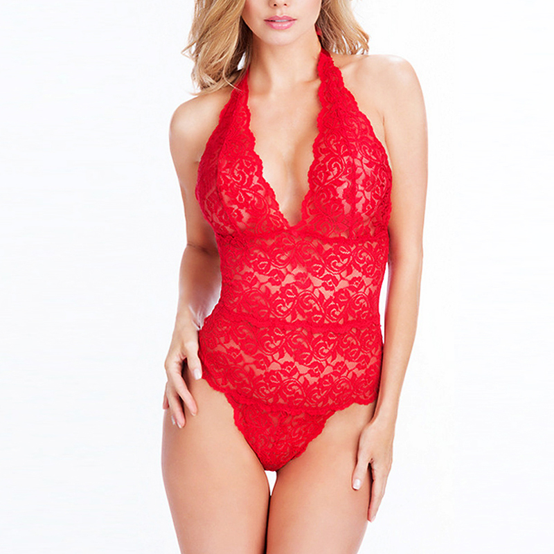 523d005d469ad Hot 2016 Women Sexy Lingerie Sheer Stretch Lace Teddy One Piece Thong  Bodysuit -in Teddies & Bodysuits from Novelty & Special Use on  Aliexpress.com ...