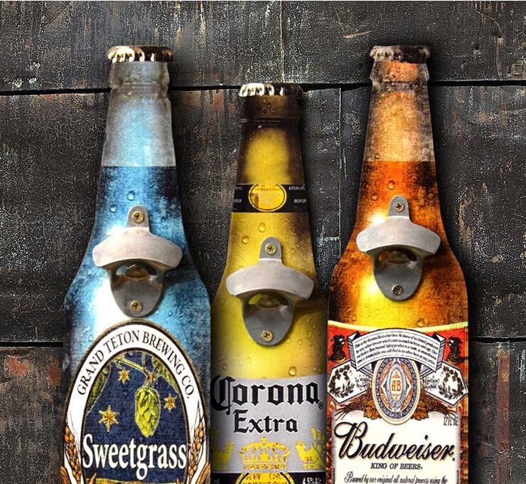 Amerikaanse Eroupean Vintage stijl bier vormige muur flesopener - Keuken, eetkamer en bar - Foto 4