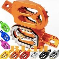 For Honda CFR250X CFR250R CFR 250 450 X R CFR450R CFR450X CRF150R 150 R CR125 CR 125 CNC Motorcross Foot Pegs Footrest Dirt Bike